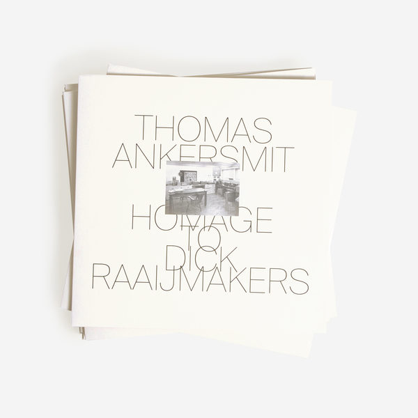 Thomas Ankersmit Shelter Press